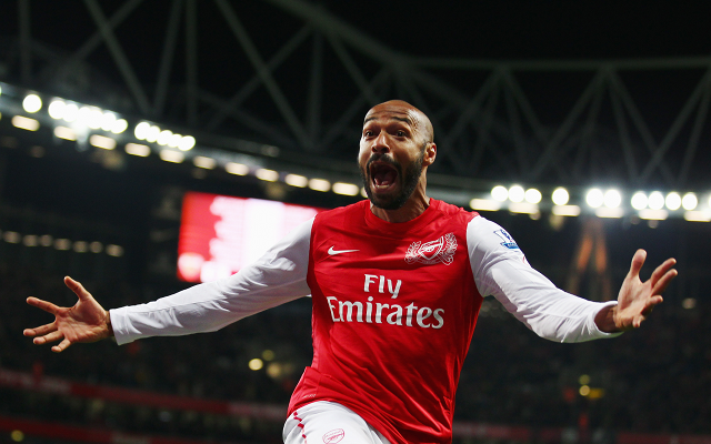 (Image) Arsenal Legend Thierry Henry Shows Off Two Full