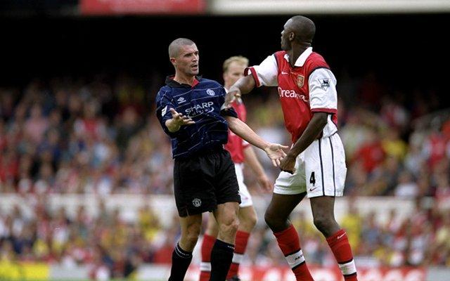 Roy Keane Manchester United Patrick Vieira Arsenal