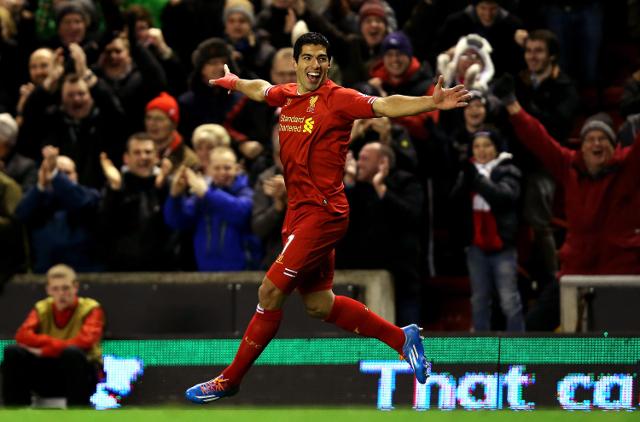 Suarez Man City