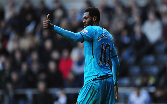 Emmanuel Adebayor Tottenham Hotspur