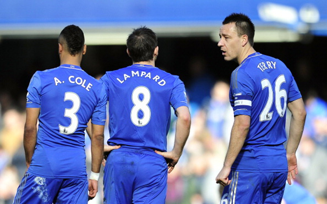 John Terry Ashley Cole Frank Lampard