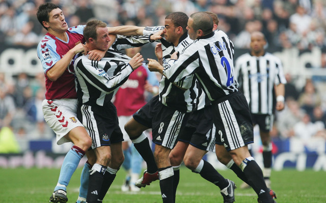 Lee Bowyer Kieron Dyer Newcastle
