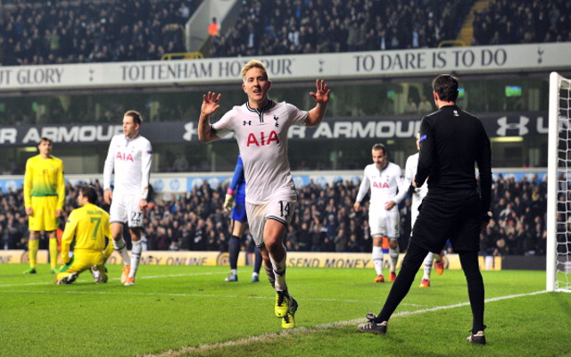 Lewis Holtby Tottenham