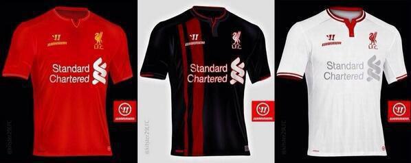 Liverpool Leaked Kit