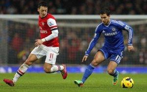 Mesut Ozil Eden Hazard