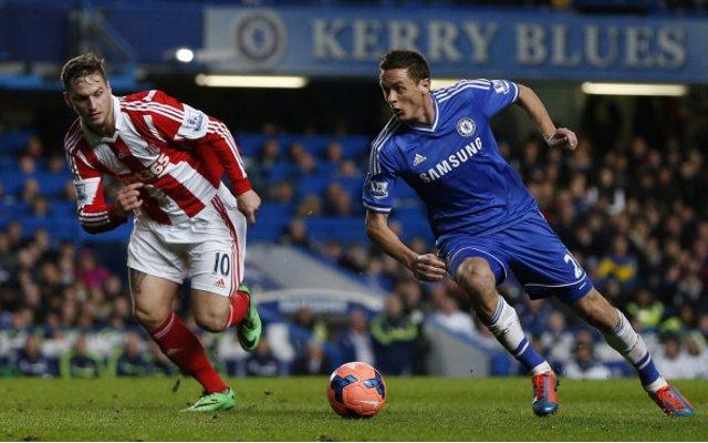 Nemanja Matic Chelsea Marko Arnautovic Stoke City