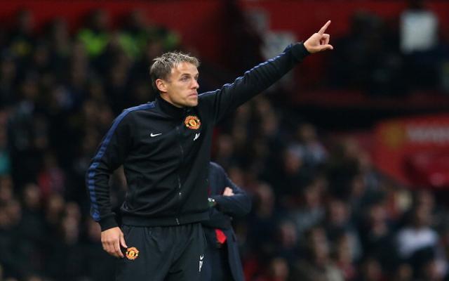 Phil Neville Man United