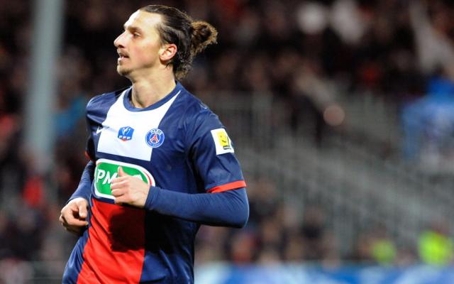 Zlatan Ibrahimovic Paris Saint-Germain PSG