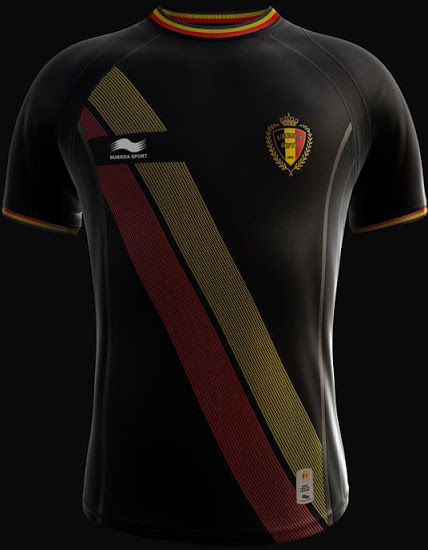Belgium 2014 World Cup Away Kit