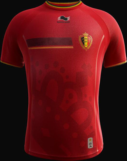 Belgium 2014 World Cup Home Kit