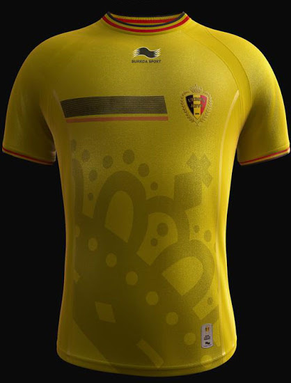 Belgium 2014 World Cup Third Kit