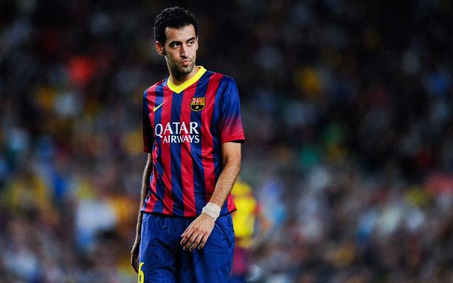 FC Barcelona Sergio Busquets