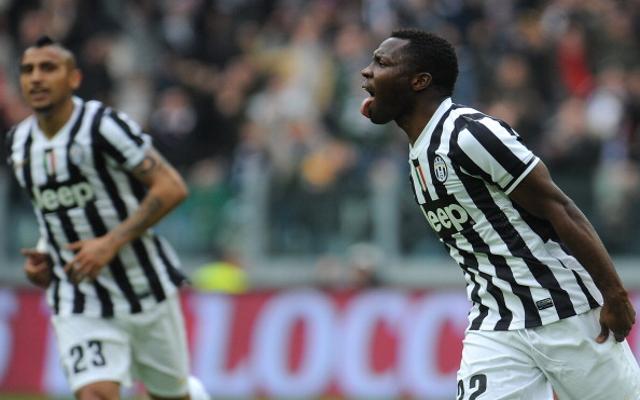Kwadwo Asamoah Juventus