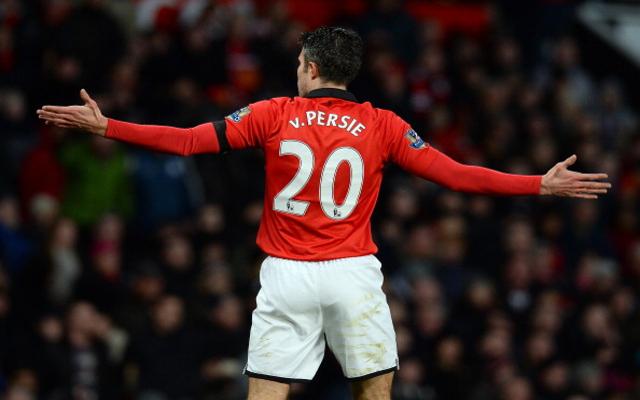 Robin Van Persie Man United