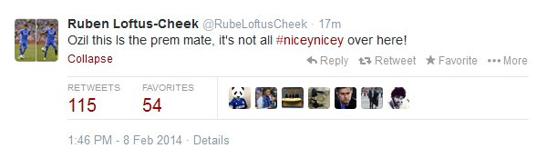 Ruben Loftus Tweet