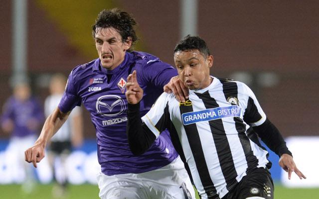 Stefan Savic Fiorentina Luis Muriel Udinese