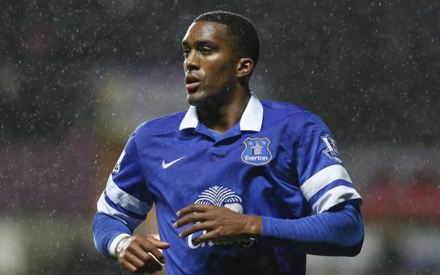 Sylvain Distin Everton