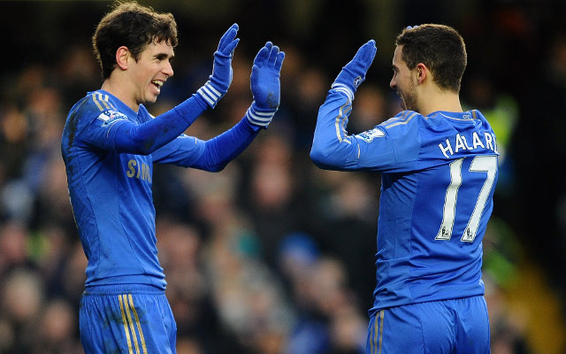 Eden Hazard Oscar Chelsea
