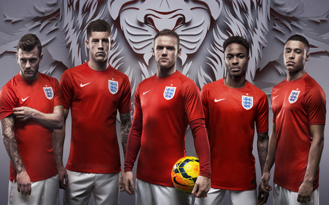 huge discount 9406f 33389 New England National Team Nike 2014 World Cup Home & Away ...