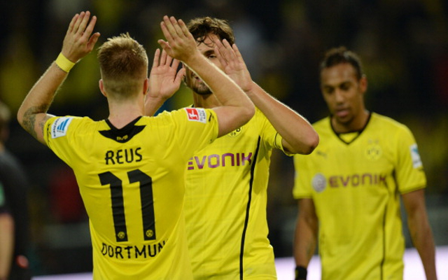 Marco Reus Mats Hummels Borussia Dortmund