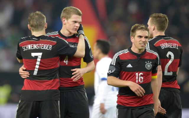 Germany Matthias Ginter SC Freiburg Bastian Schweinsteiger Philipp Lahm Kevin Grosskreutz