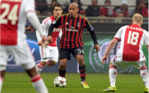 Nigel De Jong AC Milan