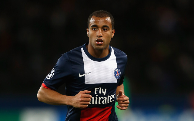 PSG Paris Saint-Germain Lucas Moura