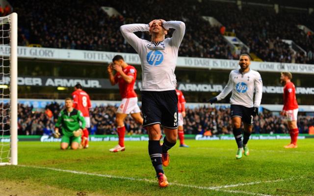 Roberto Soldado Tottenham Hotspur