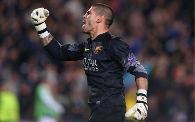 Victor Valdes FC Barcelona