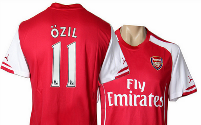 Image) Leaked Photo Of Arsenal Puma 2014/15 Home Shirt ...