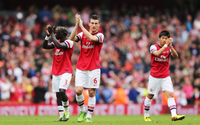 Bacary Sagna Laurent Koscielny Arsenal