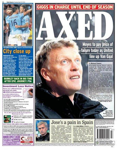 David Moyes Daily Express