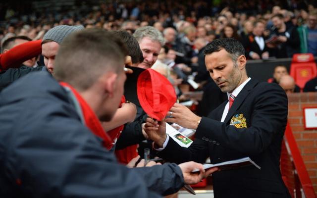 Ryan Giggs Manchester United