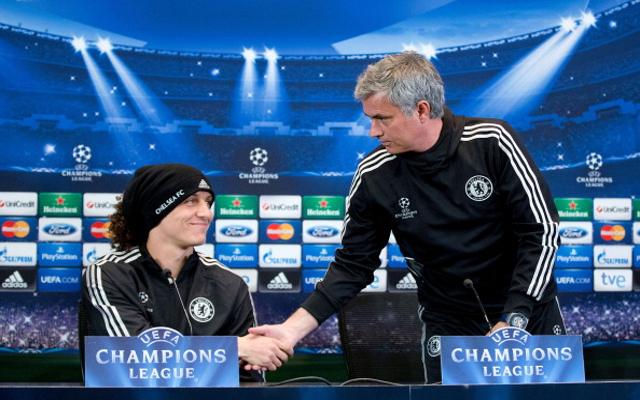 David Luiz Jose Mourinho Chelsea