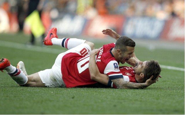 Jack Wilshere Aaron Ramsey Arsenal