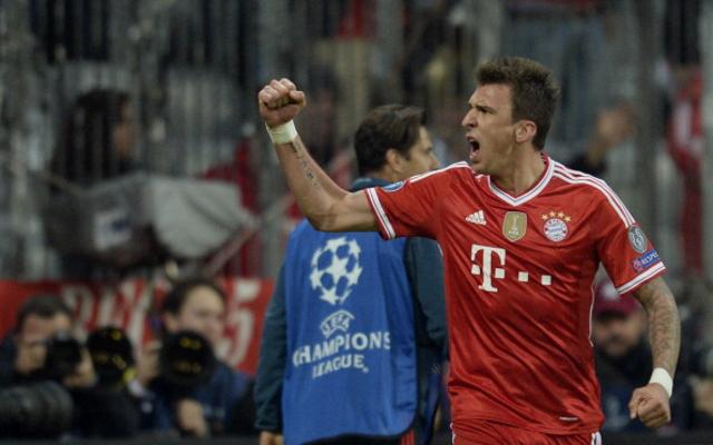 Mario Mandzukic Bayern Munich