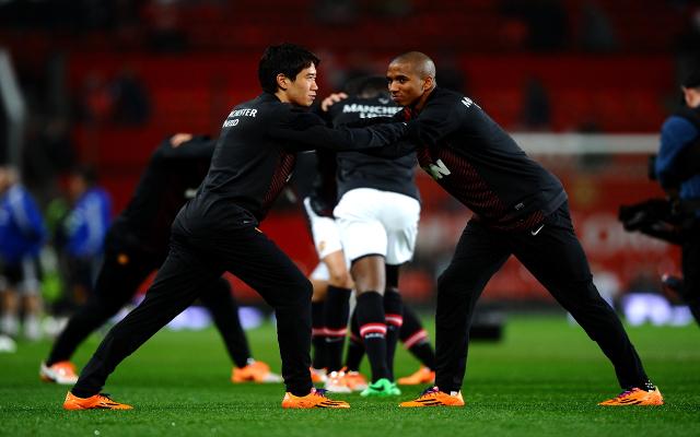 Shinji Kagawa Ashley Young Man United