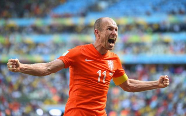 Arjen Robben Holland