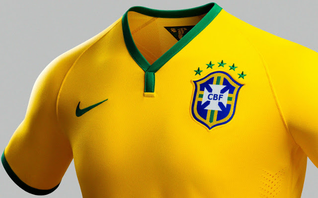 finest selection 66a10 6bf70 Ten Coolest World Cup Shirts At Brazil 2014: Hosts And ...