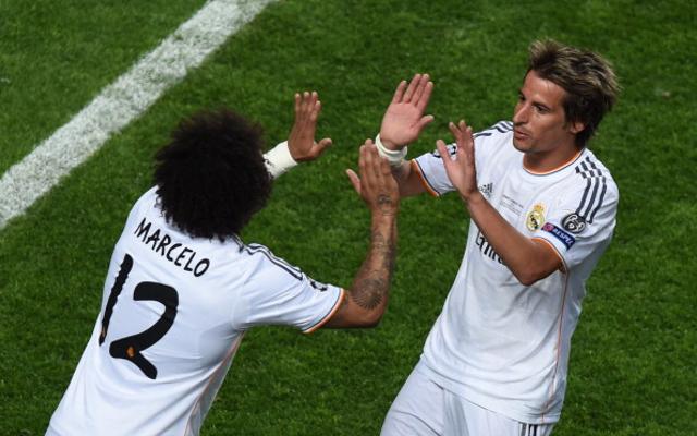 Marcelo Fabio Coentrao Real Madrid