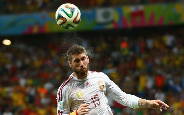 Sergio Ramos Spain