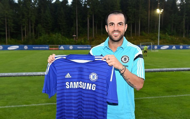 (Video) Cesc Fabregas Chelsea Debut: Individual Highlights