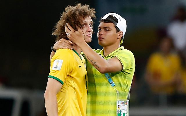 David Luiz Thiago Silva Brazil