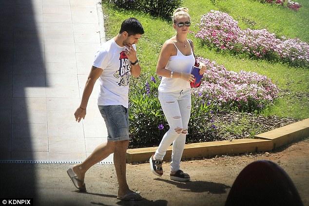 Luis Suarez and wife Sofia