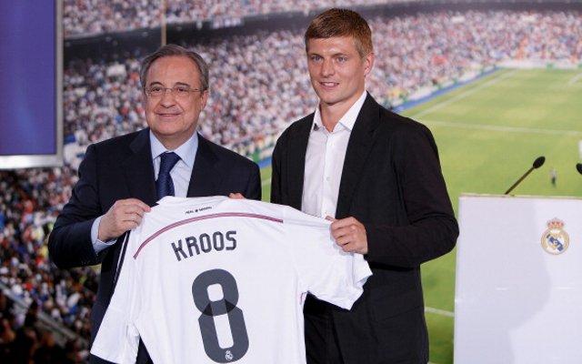 Toni Kroos Number 8