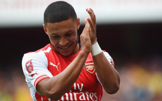 Alex Oxlade-Chamberlain Emirates Cup