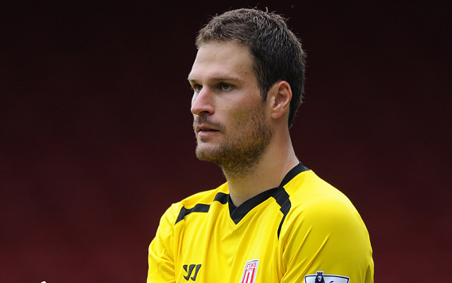 Asmir Begovic Stoke City