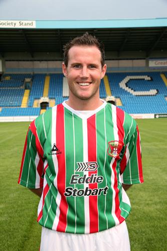 Carlisle United third kit 2006-07