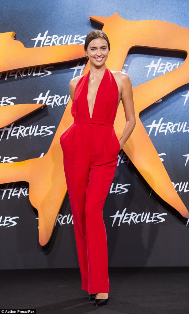 Irina Shayk, Hercules Premiere