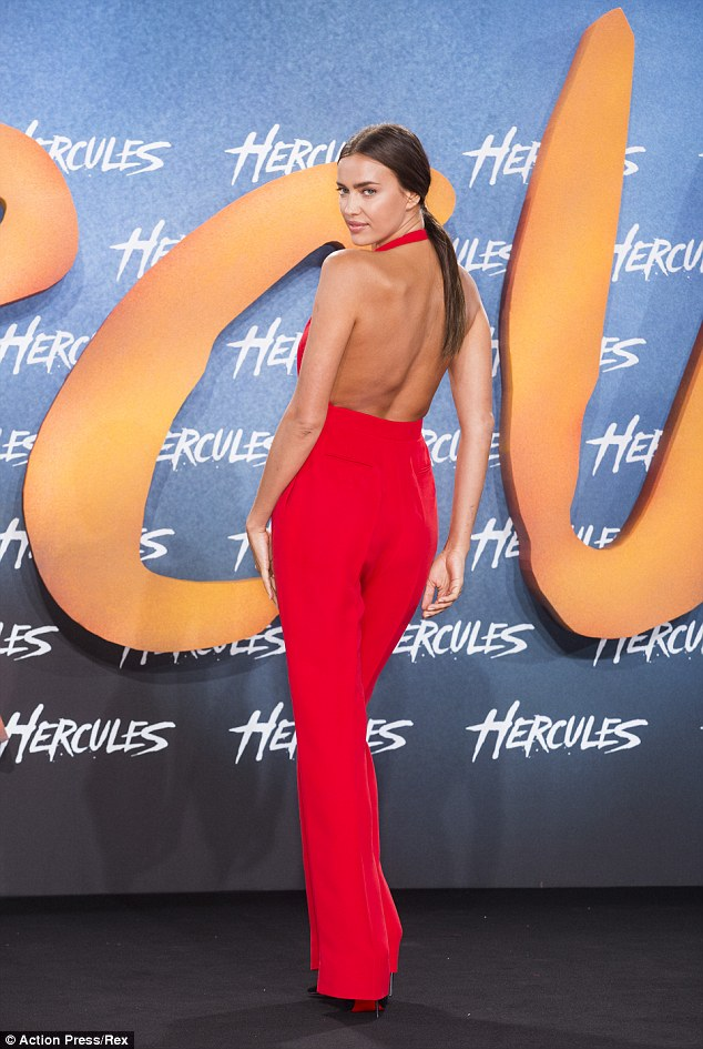 Irina Shayk, Hercules Premiere in Germany